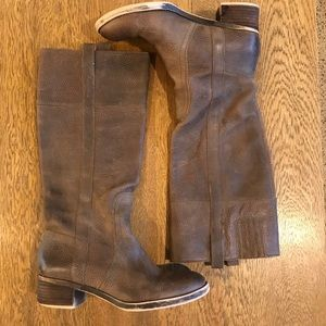 Lucky Brand Heloisse Tall Riding Brown Boots